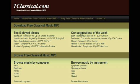Classical production music archives free stock music  Leadofficials gq